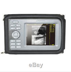 Portable Handheld Ultrasound Machine Scanner Digital +5Mhz Micro-convex Human A+