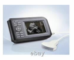 Portable Handheld Ultrasound Scanner Machine Digital+Convex Probe For Human Tool