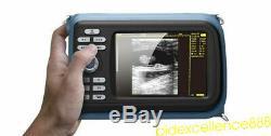 Portable Handheld Ultrasound Scanner/Machine Digital +Linear For Human Sale FDA