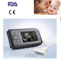 Portable Handheld Ultrasound Scanner System Digital w Convex Probe Human Sale