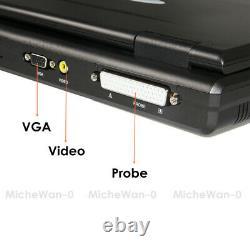Portable Laptop Machine Digital Ultrasound Scanner 3.5Mhz Convex Probe CE CONTEC
