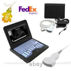 Portable Laptop Machine Digital Ultrasound Scanner 3.5Mhz Convex Probe, US Seller