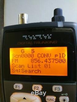 RADIO SHACK PRO-106 Handheld Digital Scanner