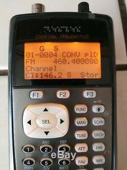 RADIO SHACK Pro-651 Digital Trunking 800 MHz P25 Capable Handheld Scanner