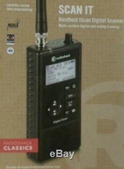RADIO SHACK Pro-668 iScan Handheld Digital Radio Scanner