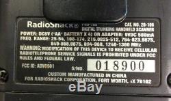 Radio Shack PRO-106 Handheld Digital Trunking Scanner Cat. No. 20-106