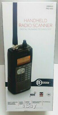 Radio Shack PRO-651 Handheld Digital Radio Scanner. BRAND NEW