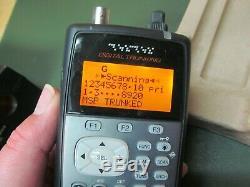 Radio Shack Pro-106 20-106 Digital Trunking Handheld Radio Scanner
