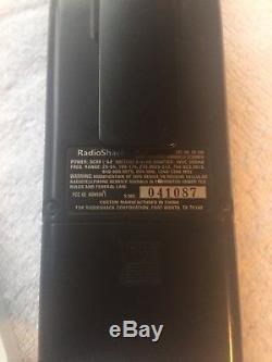 Radio Shack Pro 106 Digital Trunking Handheld Radio Scanner Used Works great