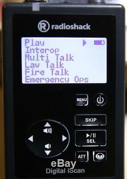 Radio Shack Pro-668 Digital Handheld Scanner