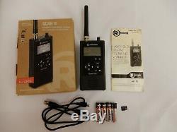 Radio Shack Pro-668 Handheld Digital Trunking Scanner With/ Bateries 4GB MicroSD