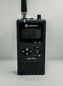 Radio Shack Pro-668 Handheld Digital Trunking Scanner With/ upgraded antenna