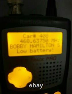 Radio Shack Pro-99 Digital Handheld Police Scanner SCANCAT Tuned -WIDE- Band