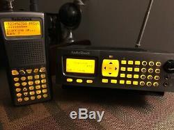 Radio Shack trunking scanner Pro-97 handheld and Pro 197 digital base/mobile