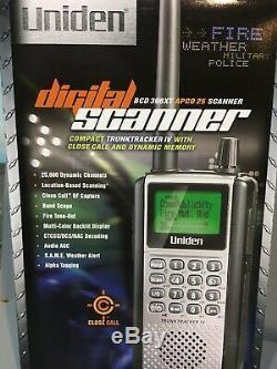 Radio Uniden BCD 396XT TrunkTracker IV Digital Handheld Radio Scanner