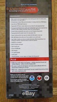 RadioShack Digital Trunking Handheld Radio Scanner PRO-106 20-106
