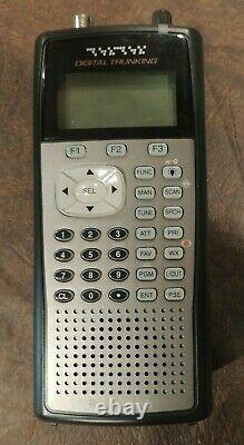 RadioShack PRO-106 Digital Trunking Handheld Radio Scanner