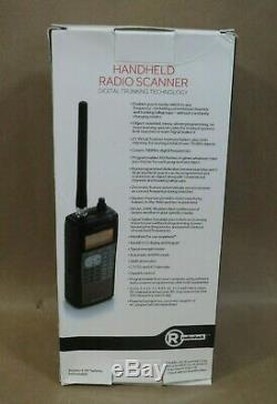 RadioShack PRO-651 Handheld Radio Scanner, Digital Trunking Technology & Manual