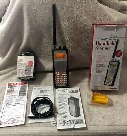 RadioShack PRO-96 Digital Trunking Handheld Scanner 20-526 BOXED With Extras EUC