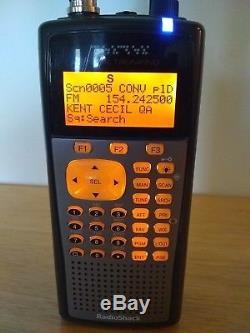 RadioShack Pro-106 Digital Trunking Handheld Radio Scanner With Extras