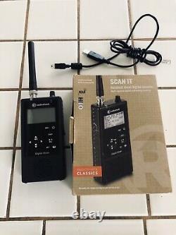 RadioShack Pro-668 SCAN IT Handheld iScan Digital Scanner Multi-system digital a