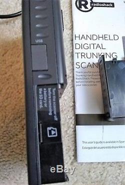 Radioshack PRO-668 Handheld Digital Trunking Scanner