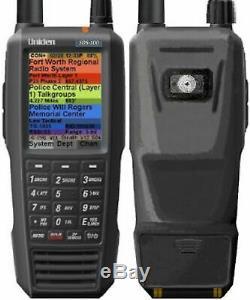 SDS100 Uniden Handheld Digital Police Scanner