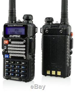 Two Way Handheld Scanner Digital Radio Monitor Police Fire Department Dual Band