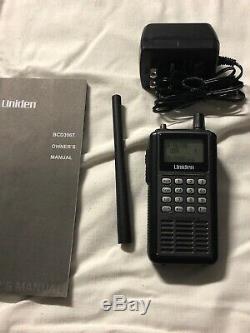 UNIDEN BCD396T Digital APCO 25 Handheld Radio Scanner