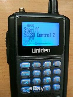 UNIDEN BCD396T Digital APCO P25 Handheld Radio Scanner