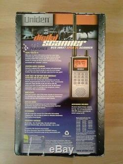 UNIDEN BCD396XT TrunkTracker IV Digital APCO P25 Handheld Radio Scanner