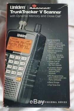 UNIDEN BearCat TrunkTracker V, BCD325P2 Digital Handheld Police/Fire/EMS Scanner