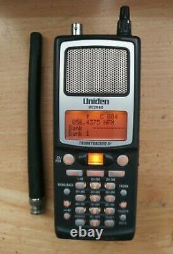 UNIDEN Bearcat BC296D TrunkTracker IV APCO P25 Digital Radio Scanner, AC Charger