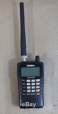 UNIDEN Bearcat BCD325P2 Handheld Digital Scanner, BCD325P2, TrunkTracker V