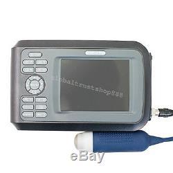 US Portable Laptop Ultrasound Scanner Machine Handscan Animal Veterinary +Gift