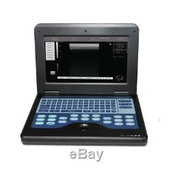 US Seller Veterinary Ultrasound Scanner VET Laptop System Machine with 2 Probe