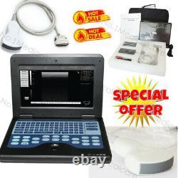 USA Fedex Portable Laptop Machine Digital Ultrasound Scanner 3.5mhz Convex Probe