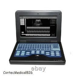 USA Portable Ultrasound Scanner Digital Laptop Machine+6.5Mhz Transvaginal Probe