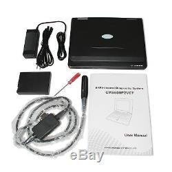 USA VET Veterinary Laptop Ultrasound Scanner Machine 7.5mhz Animal Rectal probe