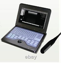 USA Veterinary Ultrasound Scanner Laptop Machine 7.5Mhz Rectal, bovine&Sheep Vet