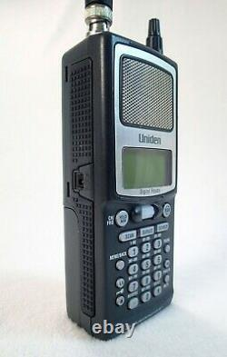 Uniden BC250D Handheld Digital Scanner Bearcat 16 Band Coverage w P25 Card