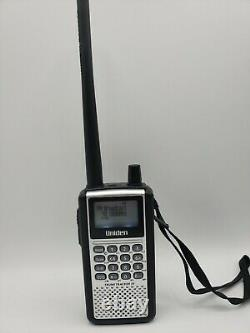 Uniden BCD 396XT TrunkTracker IV Digital Handheld Police Scanner with usb cable