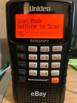 Uniden BCD325P2 Digital Handheld Police Scanner Has DMR and NXDN UPGRADE install