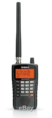 Uniden BCD325P2 Digital Handheld Scanner with TrunkTracker V & Rubber Duck Antenna