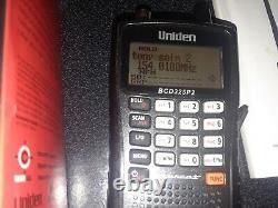 Uniden BCD325P2 Digital Mobile Police Scanner (Used) DMR unlocked