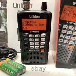 Uniden BCD325P2 TrunkTracker V Digital Handheld Police Scanner