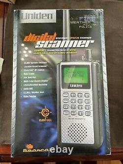 Uniden BCD396XT BCD 396XT TrunkTracker IV Digital Handheld Police Scanner