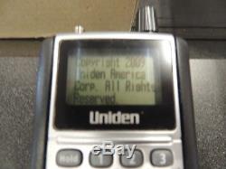 Uniden BCD396XT Digital APCO P25 Handheld Scanner Police Fire NICE