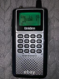 Uniden BCD396XT Digital Handheld Trunking Police Scanner APCO 25