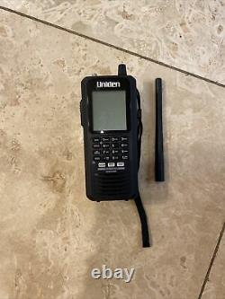 Uniden BCD436HP Digital Handheld Scanner Manual & USB Cable Excellent Cond